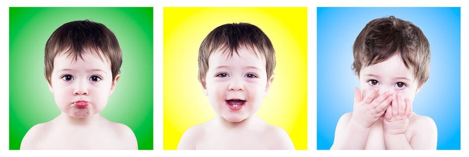toddler making faces